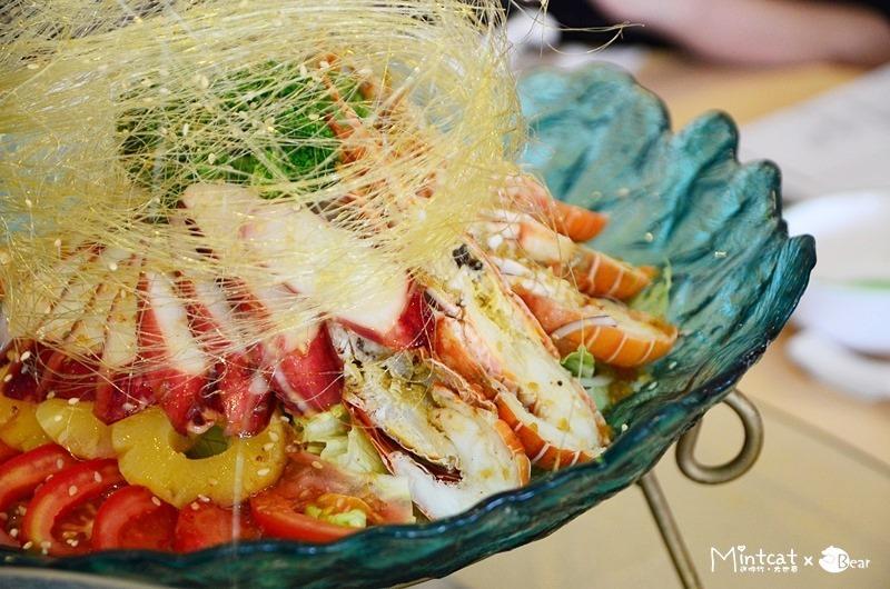 宜蘭美食│光武農產生活館無菜單料理‧超乎想像的澎湃海鮮料理