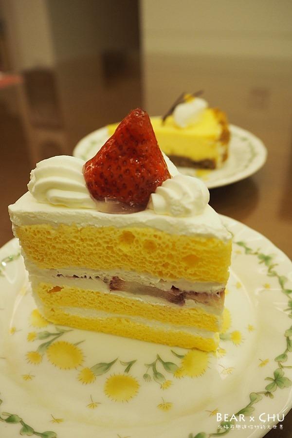 La Bonbonnière日法坊‧鮮草莓奶油蛋糕、原味起司蛋糕、瑪法頌重乳酪蛋糕