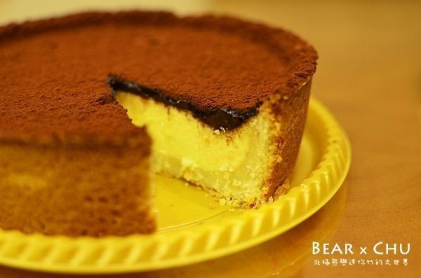 【台北市中山區】大直北安路上的布洛烘焙坊‧巧克力乳酪派