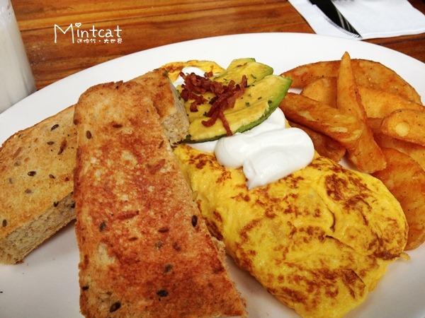 【台北內湖餐廳】早餐吃什麼?超人氣小貳樓咖啡早午餐
