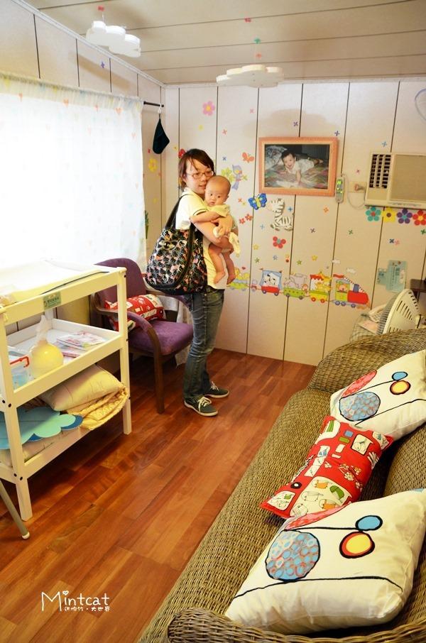 【哺乳日記】母嬰親善空間‧彰化田尾菁芳園育嬰與哺集乳室