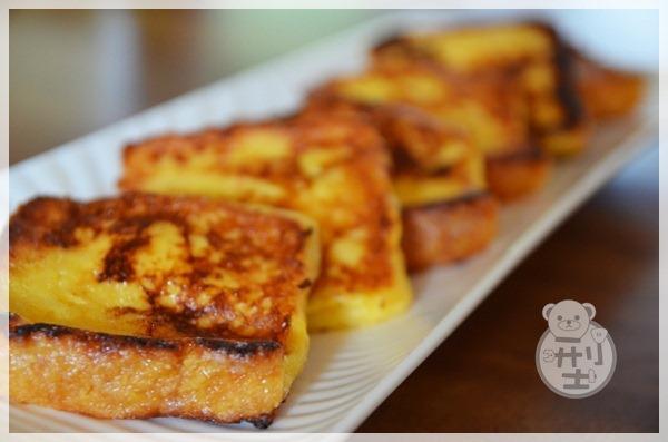 【食譜】簡單美味的早餐-法國吐司