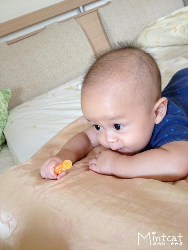 【哺乳日記】終於來到的寶寶長牙期