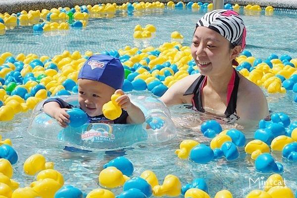 【台北親子活動景點】大湖公園游泳趣‧兒童鴨鴨池和漂漂河真好玩!