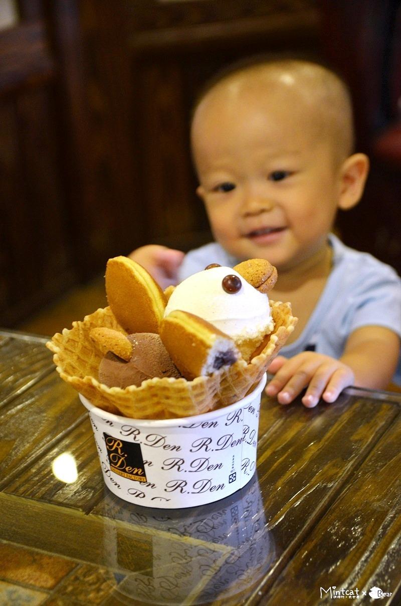 【宜蘭市附近景點】亞典蛋糕密碼館‧可愛義式冰淇淋擄獲小朋友的心