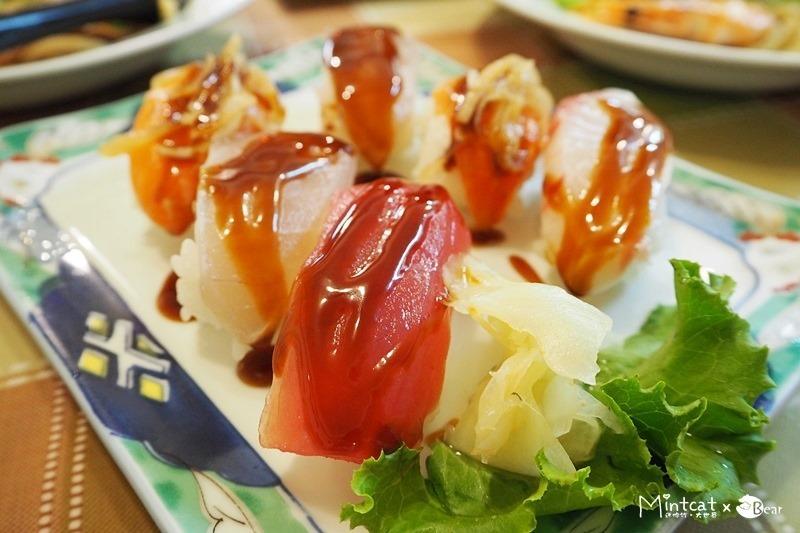 【台北萬華美食】無名生魚片握壽司日本料理‧近青年公園與萬華親子館