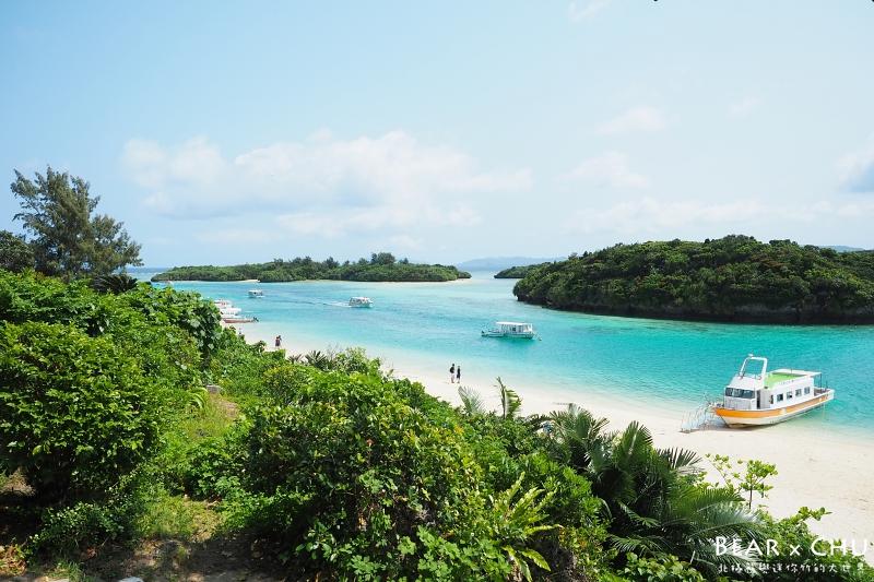 日本石垣島推薦必遊旅遊景點川平灣・日本百景之一的絕美景色