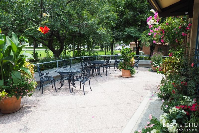 竹北花院子咖啡簡餐